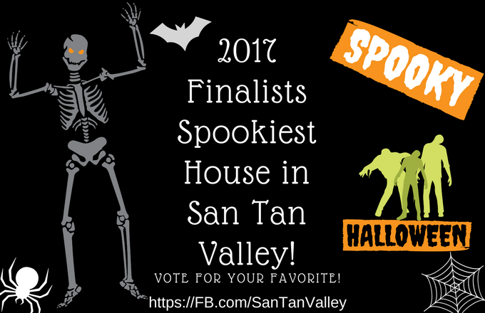 Vote for the 2017 Spookiest House in San Tan Valley