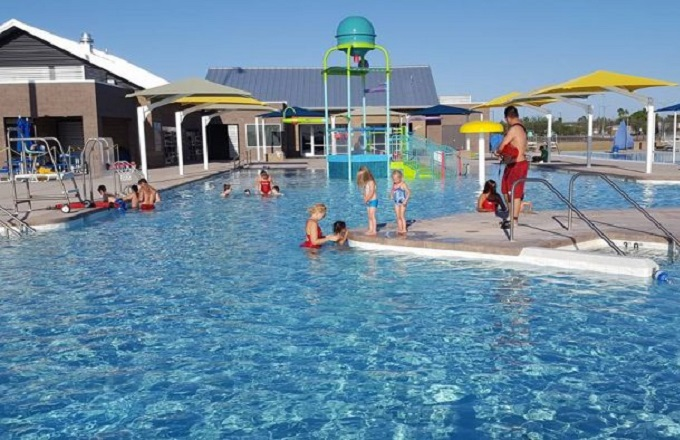 Summer Open Swim Days and Hours at the Aquatic Center